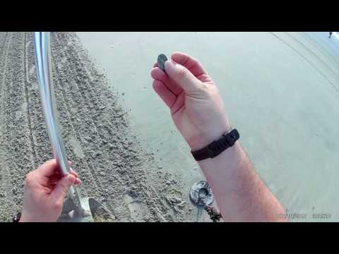 Wildwood Beach Metal Detecting with V3i July 18th and 19th 2017