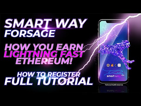 🕺Smart Way Forsage Review (English) – Earn Fast Ethereum! How To Register From A Smart Phone!