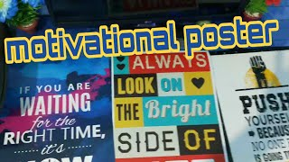 Unboxing and hands on review of motivational posters purchased from amazon Is it worth it