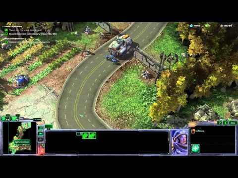 Let's Play StarCraft 2 Wings Of Liberty - Part 5 - The Evacuation