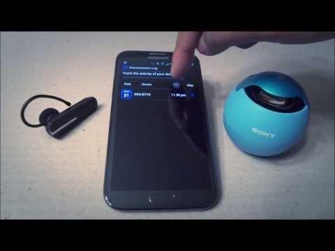Bluetooth Finder App - Demo Video