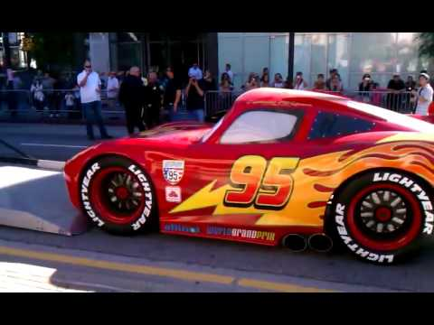 cars 2 lightning mcqueen life size youtube. Black Bedroom Furniture Sets. Home Design Ideas