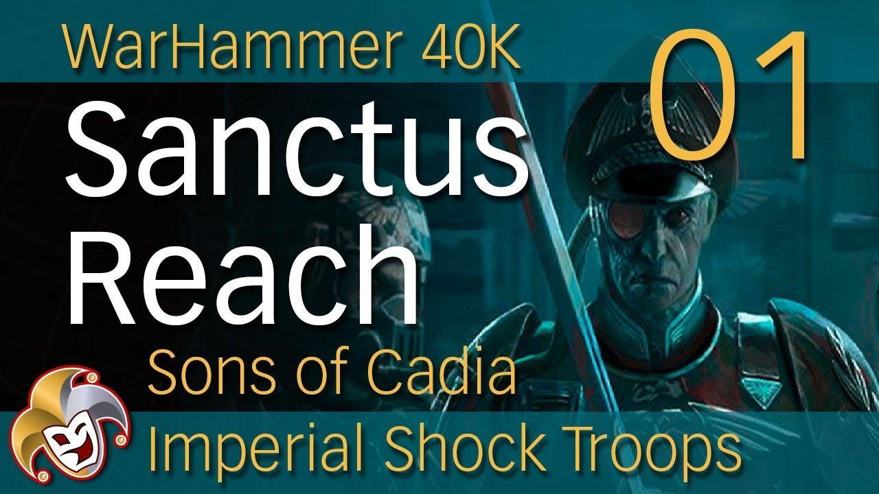 warhammer 40 000 sanctus reach - sons of cadia русификатор