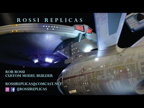 """27"""" Tantive IV Blockade Runner Resin Kit Build Log Part 6 - Rossi Replicas"""