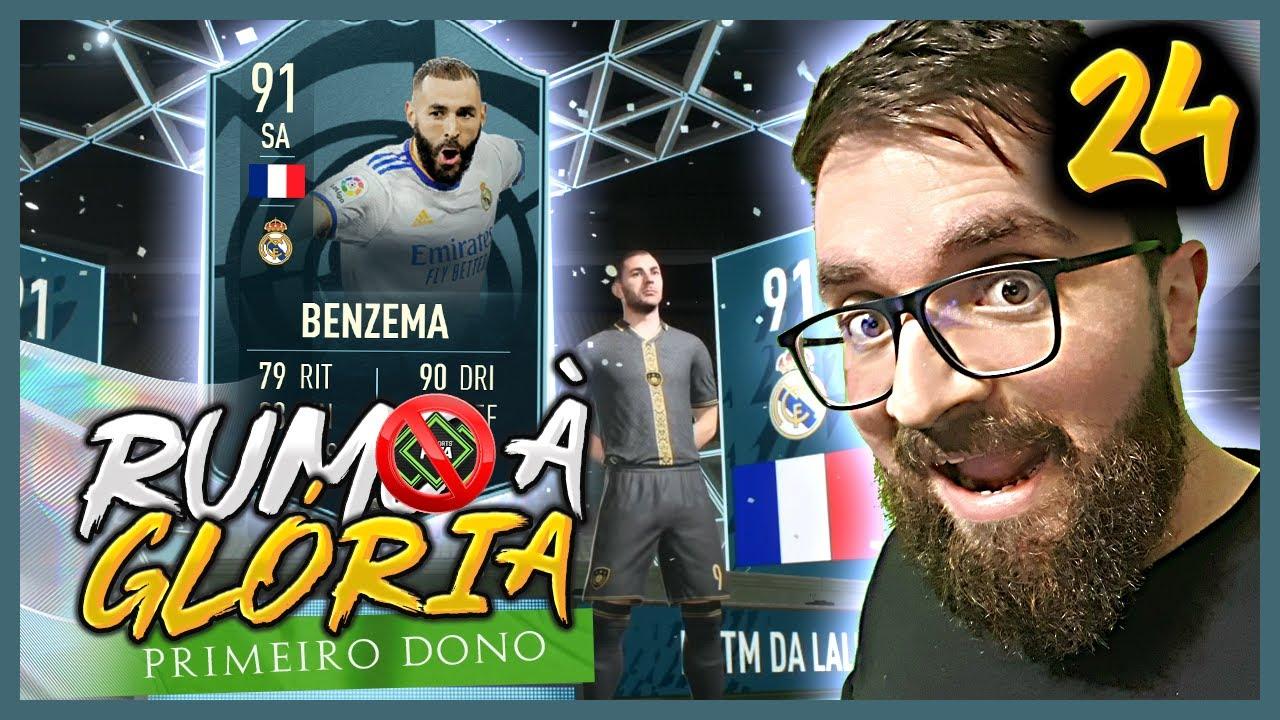 Download COMPLETAMOS O DME DO KARIM BENZEMA POTM 91 E MONTAMOS UM TIMAÇO!!! - FIFA 22 Ultimate Team RGPD #24