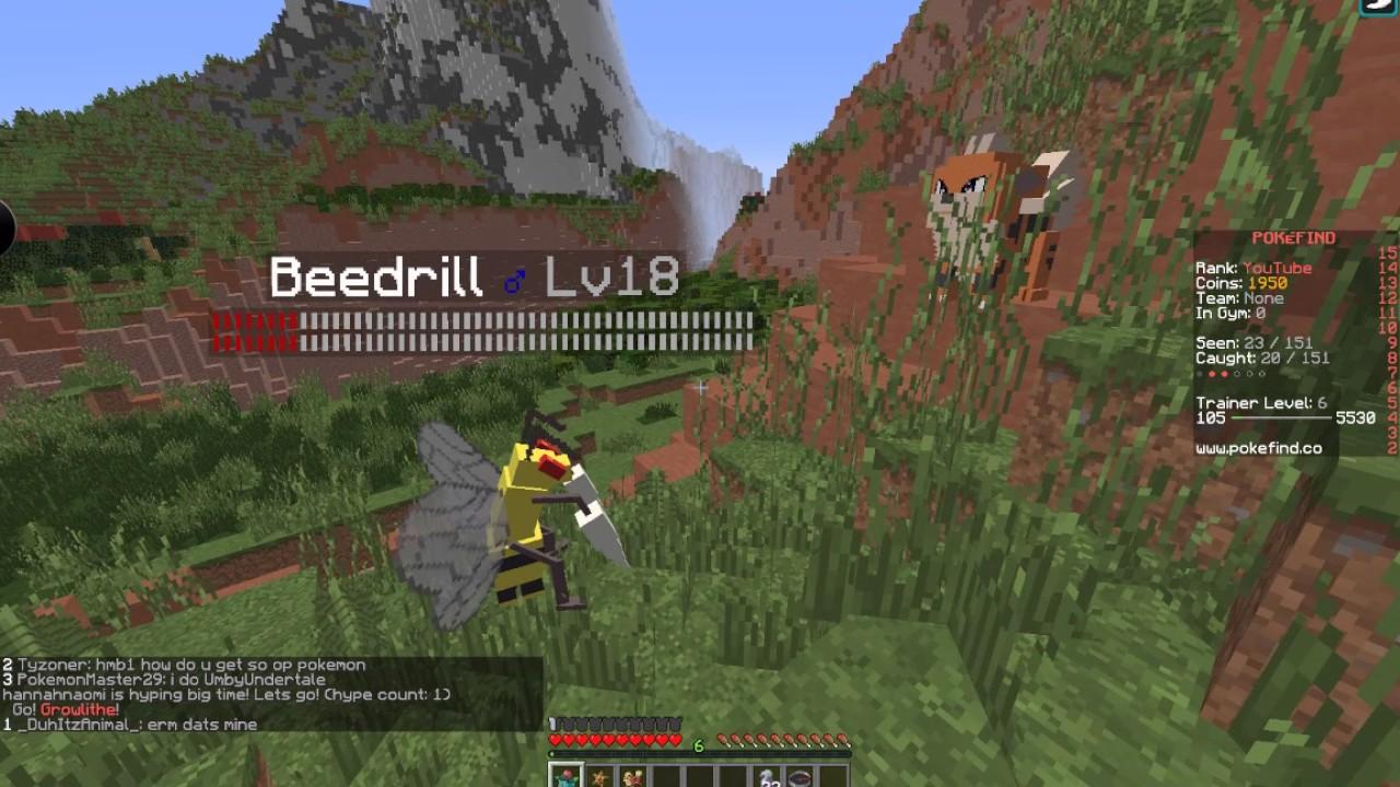 Pokefind Minecraft Ep 1 Youtube