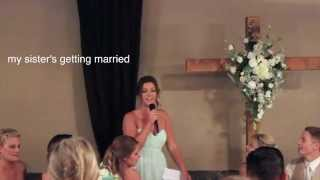 Cassie's Maid Of Honor Toast