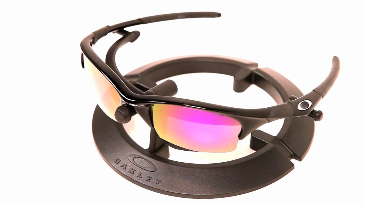 aa43bba1704 VL Polarized Plasma Purple Lenses for Oakley Half Jacket XLJ - YouTube