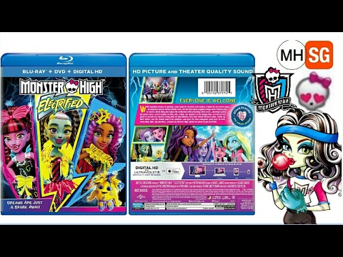 Download Monster High Electrified DVD