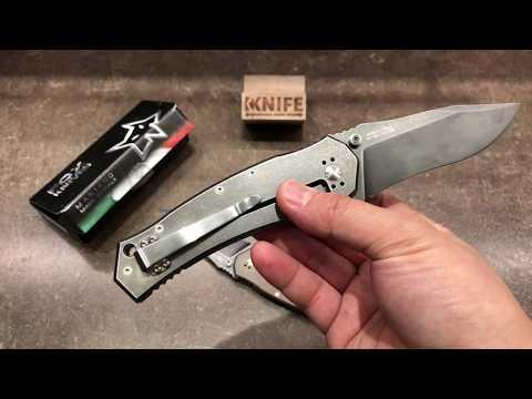 Нож Combative Edge M 1 By Wilson Combat, Bronze And Gray Titanium от FOX