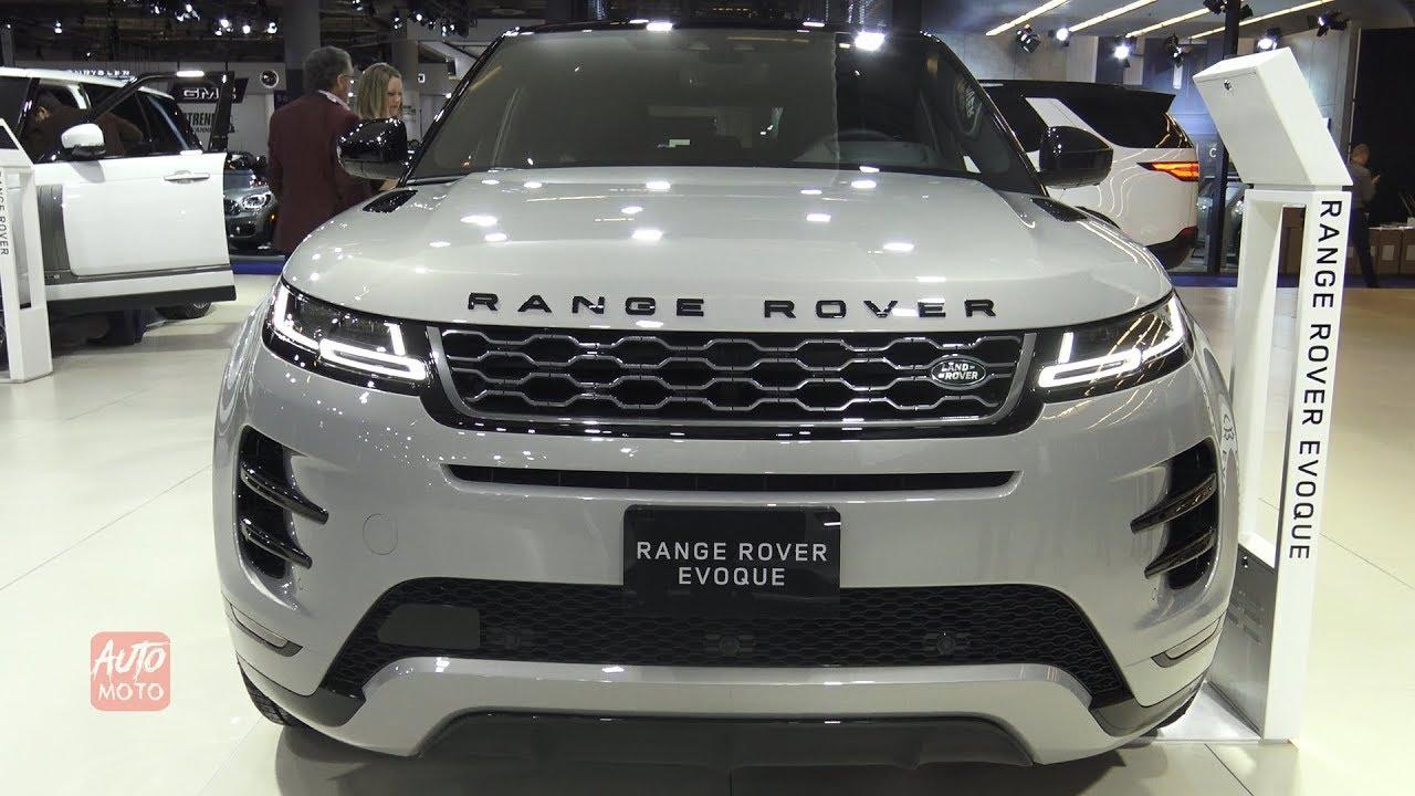 2020 range rover evoque p300 hse exterior and interior walkaround 2019 montreal auto show