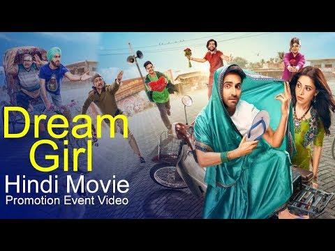 Download Dream Girl (2019) Hindi Movie | Ayushmann Khurrana & Nusrat Bharucha | Promotion Event Full Video