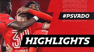 Wonderful goals by Madueke & Thomas 😍   HIGHLIGHTS PSV - ADO Den Haag