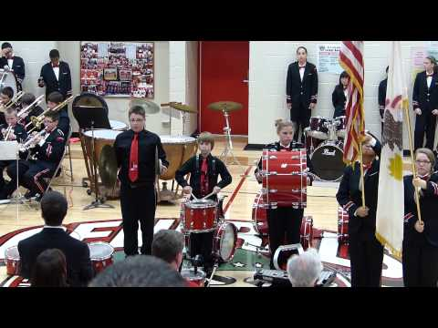 Star Spangled Banner Cymbal Fail -- 2013.05.18 EJH Red & White Concert
