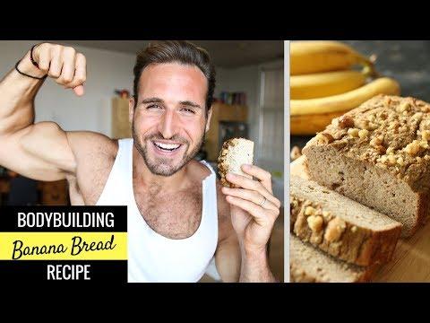 BODYBUILDING Banana Bread Recipe | MACRO FRIENDLY, HEALTHY & EASY