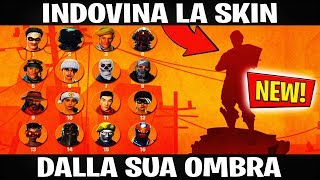 INDOVINA the SKIN from its 👤 OMBRA FORTNITE ITA CHALLENGE