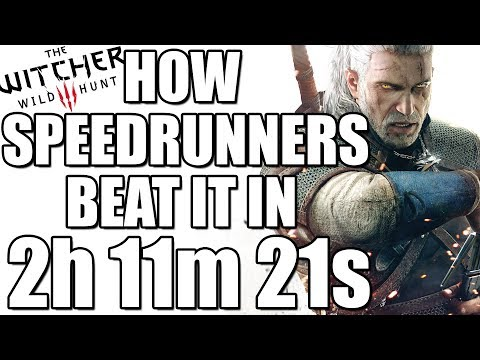 How Speedrunners beat The Witcher 3 in 2:11:21 (Witcher 3 Wild Hunt WR)