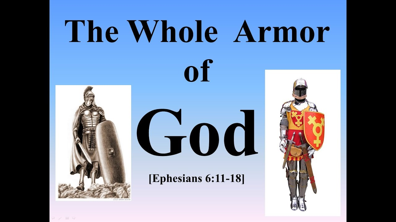 the whole armor of god youtube