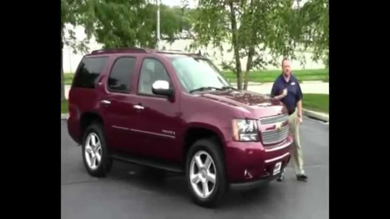 Used 2008 Chevy Tahoe LTZ 4wd for sale at Honda Cars of Bellevue ...