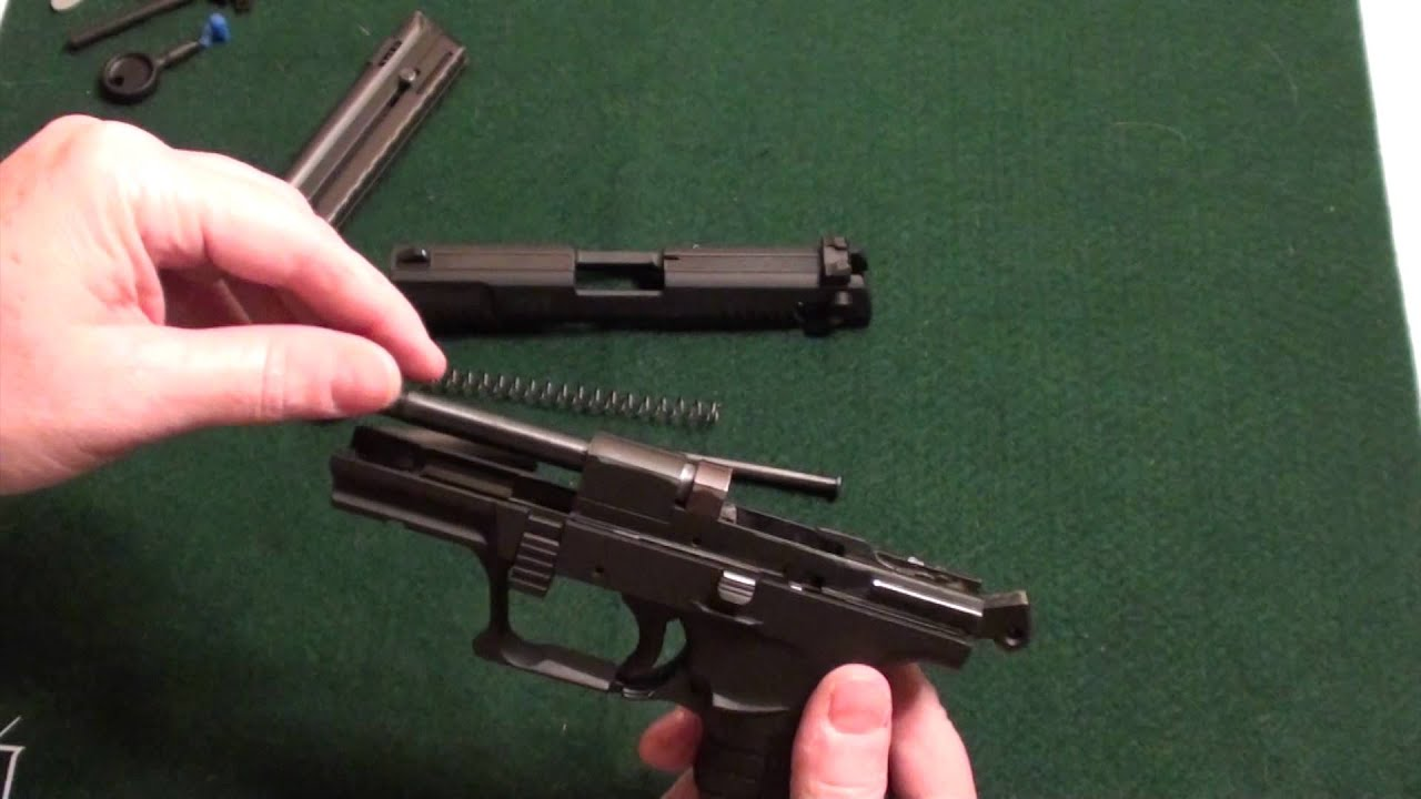 Walther P22 Field Strip Disassembly Assembly Tips Tricks Youtube