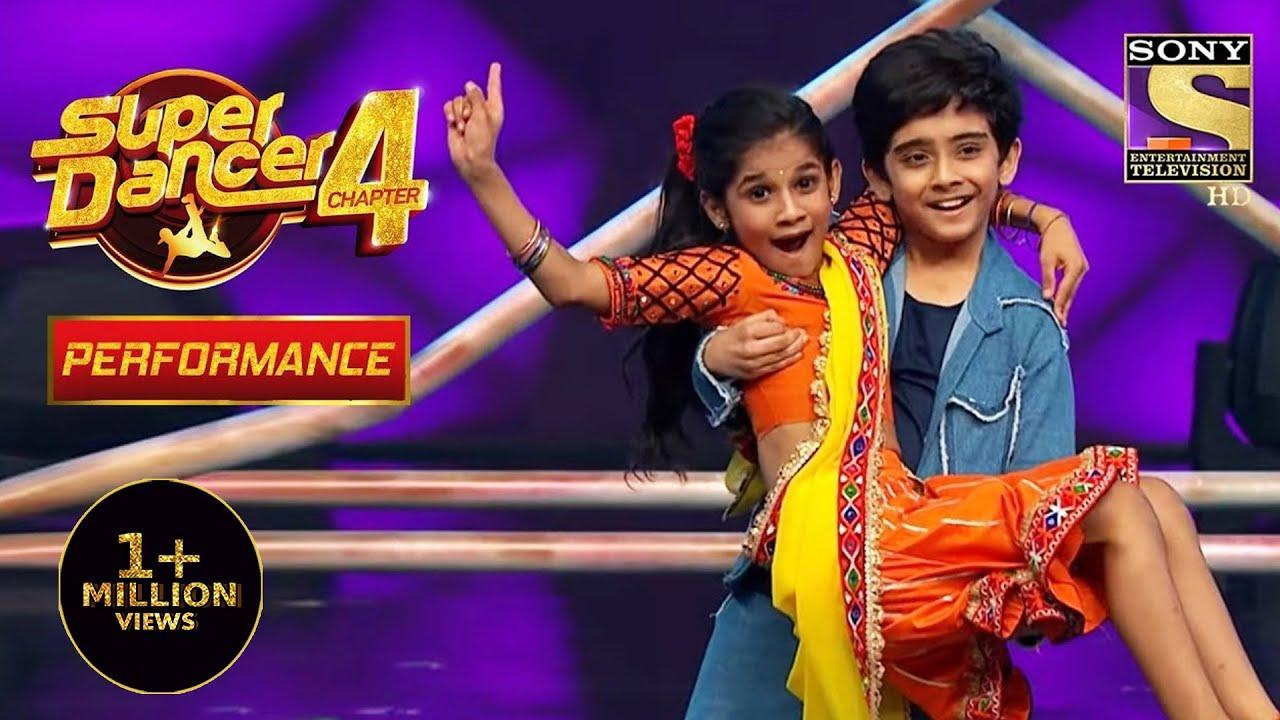 Download Sanchit और Anshika बने छोटे Basanti और Veeru | Super Dancer 4 | सुपर डांसर 4