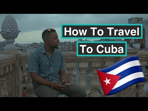 CUBA TRIP PART 1: How to travel to Cuba (AS AN AMERICAN)