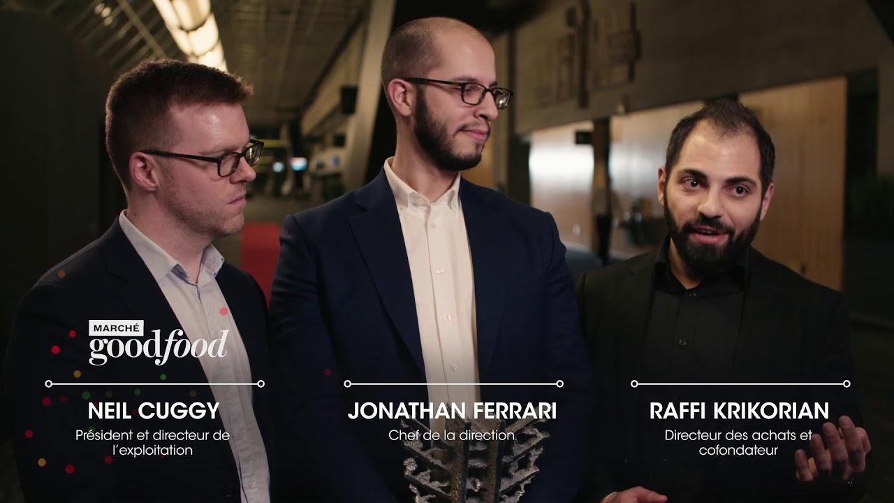 Marché Goodfood Lauréat Les Mercuriades 2018 Youtube