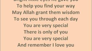 You are Very Special Zain Bhikha Lyrics