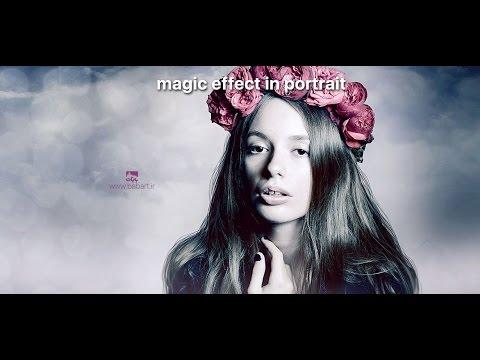 magic effect in portrait in photoshop_BabArt[dat]iR