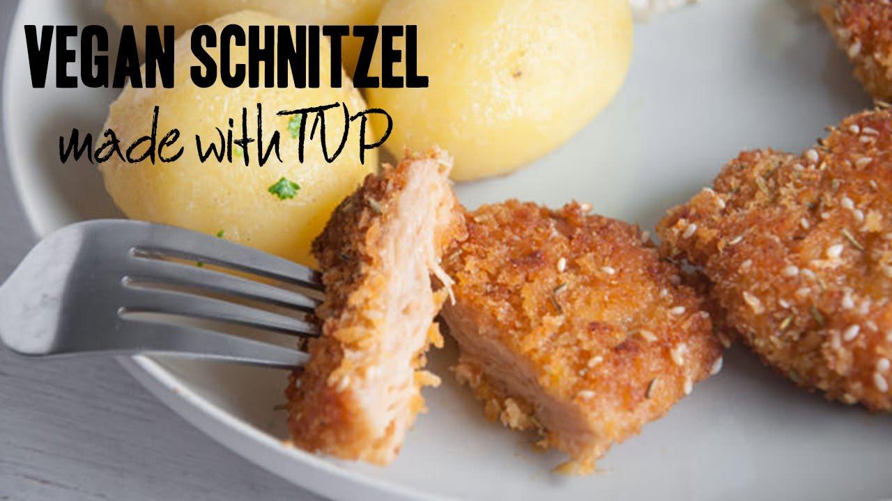 Plant Based Protein >> Vegan Schnitzel | Traditional German/Austrian Food! - YouTube