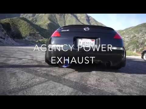 350z Agency Power exhaust is SUPER LOUD!!!