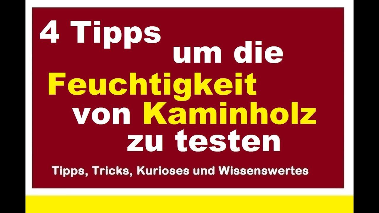 Feuchtigkeit Von Kaminholz Testen Prufen 4 Tipps Und Tricks