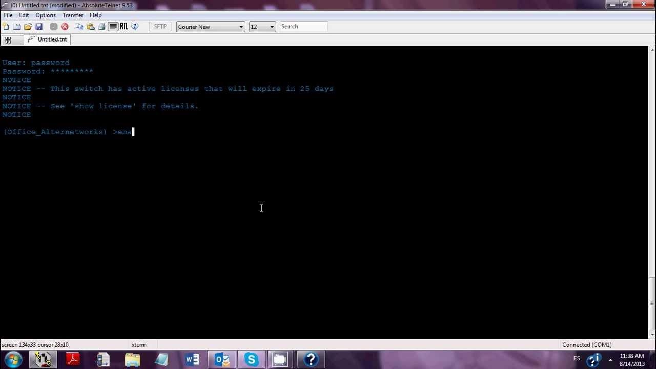 [Aruba Network Tip Tecnico] Password Recovery