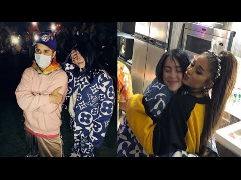Billie Eilish FINALLY Meets Justin Bieber & Ariana Grande At COACHELLA !!