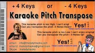Parde mein rehne do - Asha KarAoke - www.MelodyTracks.com