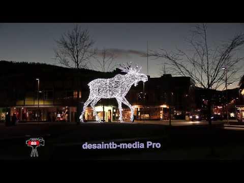Belle ville de Drammen en Norvège: Janvier 2017