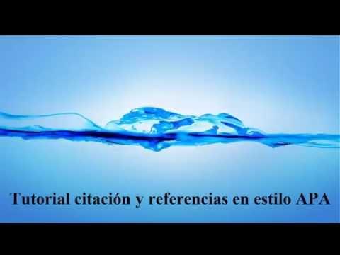 ¿Cómo citar con APA en WORD? de YouTube · Duración:  9 minutos 6 segundos