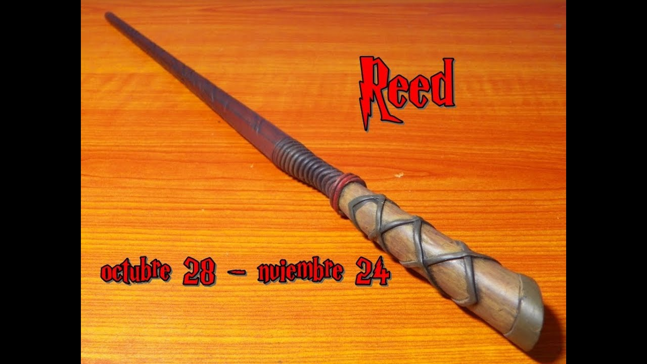 Reed wand varita del parque tematico de harry potter for Harry potter ivy wand