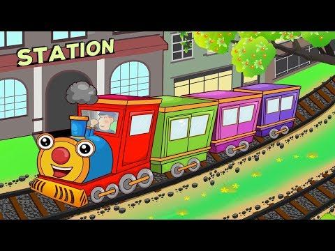 Down By The Station Song   Family Nursery Rhymes Songs For Kids   Cartoon For Children