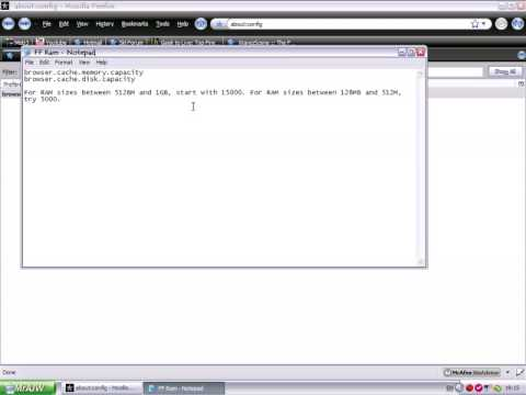 Hacking firefox Settings - Video 2