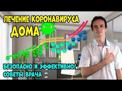ЛЕЧЕНИЕ коронавируса ДОМА. БЕЗОПАСНО. Эффективная схема от ВРАЧА (видео 2)