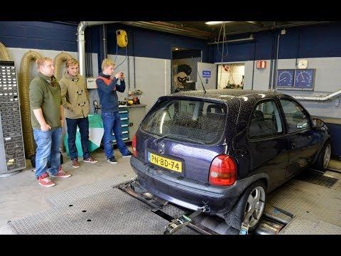 Op de Rollenbank: Opel Corsa GSI