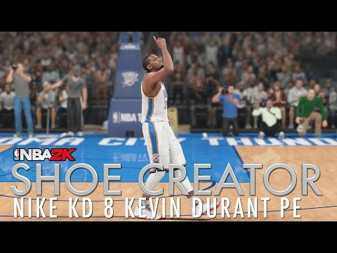 NBA 2K16 Shoe Creator: Nike KD 8 Kevin Durant PE