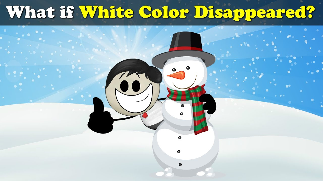 What if White Color Disappeared? + more videos   #aumsum #kids #science #education #children