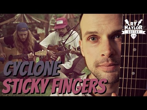 Cyclone Sticky Fingers Guitar Lesson - Chords and TAB
