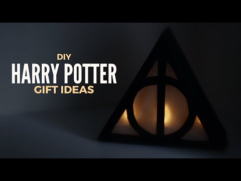 DIY: Gift Ideas for Harry Potter Lovers