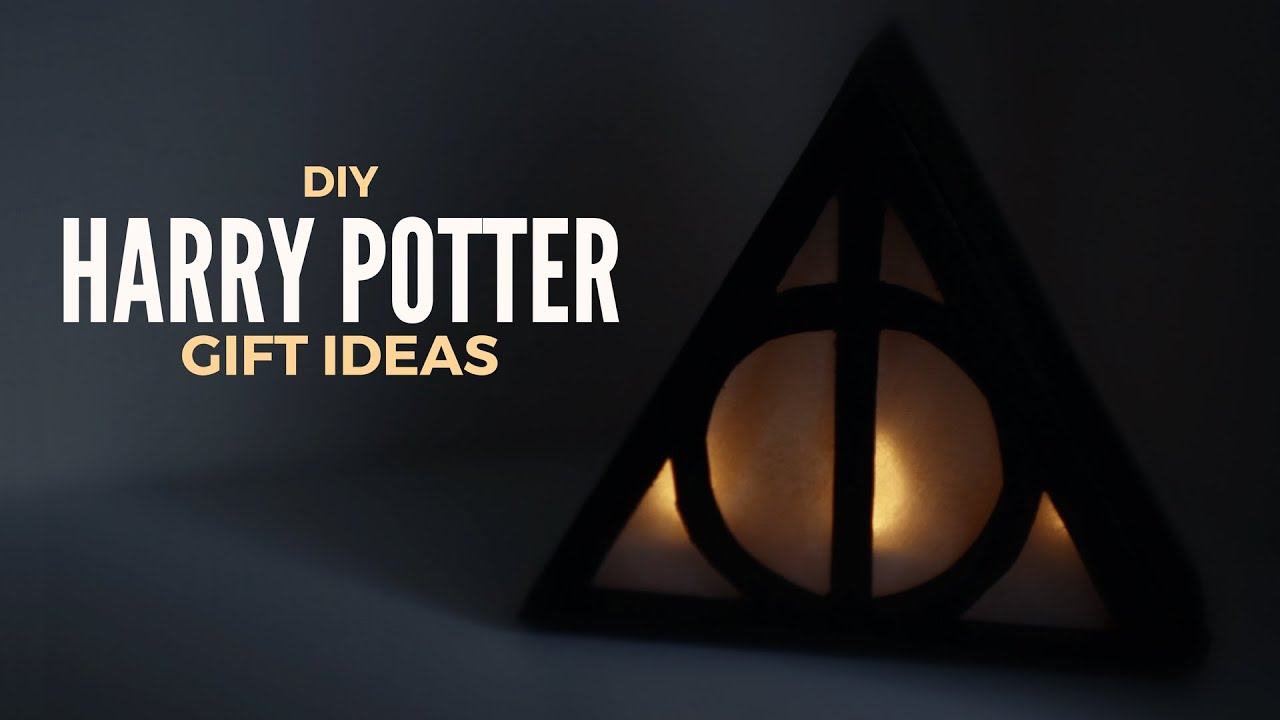 Diy Gift Ideas For Harry Potter Lovers Youtube