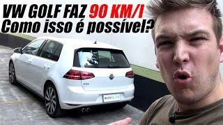 FIZ 90 km/l no VW GOLF TURBO! (part. ADG do Canal High Torque)