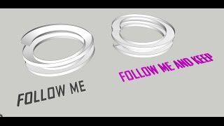 "Video Tutorial Sketchup - Make a Ramp by using ""Follow Me and Keep"" (Plugin) download MP3, 3GP, MP4, WEBM, AVI, FLV Desember 2017"