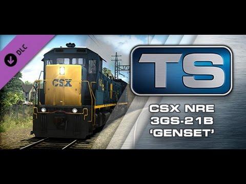 Railworks 2015 CSX NRE 3GS-21B 'Genset' |